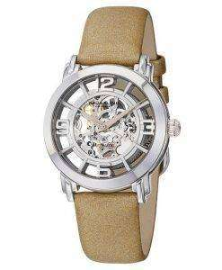Stuhrling Original Winchester Automatic Skeleton Dial 156.121S2 Womens Watch