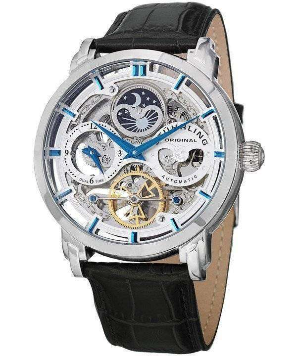 Stuhrling Original Anatol Automatic Dual Time 371.01 Mens Watch