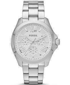 Fossil Cecile Multifunction Silver-Tone Stainless Steel AM4509 Womens Watch