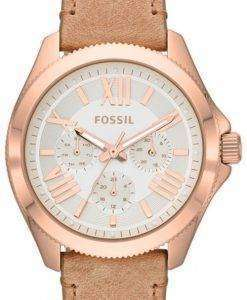 Fossil Cecile Multifunction Sand Leather Strap AM4532 Womens Watch