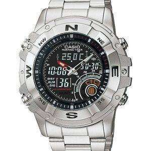Casio Analog Digital Out Gear Hunting Timer AMW-705D-1AVDF AMW-705D-1AV Mens Watch