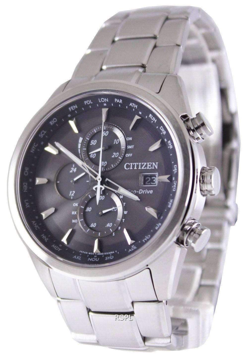 Citizen Eco-Drive Chronograph Atomic AT8011-55E 1462983cb4