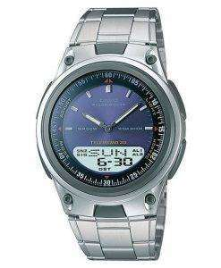 Casio Analog Digital Telememo Illuminator AW-80D-2AVDF AW-80D-2AV Mens Watch