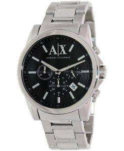 Armani Exchange Chronograph Black Dial AX2084 Mens Watch