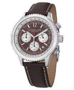 Stuhrling Original Monaco Chronograph 669.03 Mens Watch