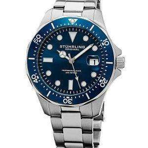 Stuhrling Original Regatta Quartz Divers 200M 824.02 Mens Watch