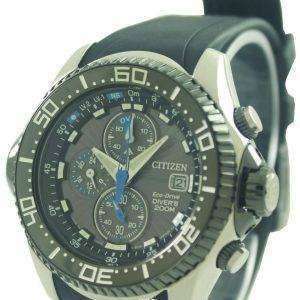 Citizen Promaster Eco Drive Aqualand Chronograph Divers Watch BJ2110-01E BJ2110-01 BJ2110