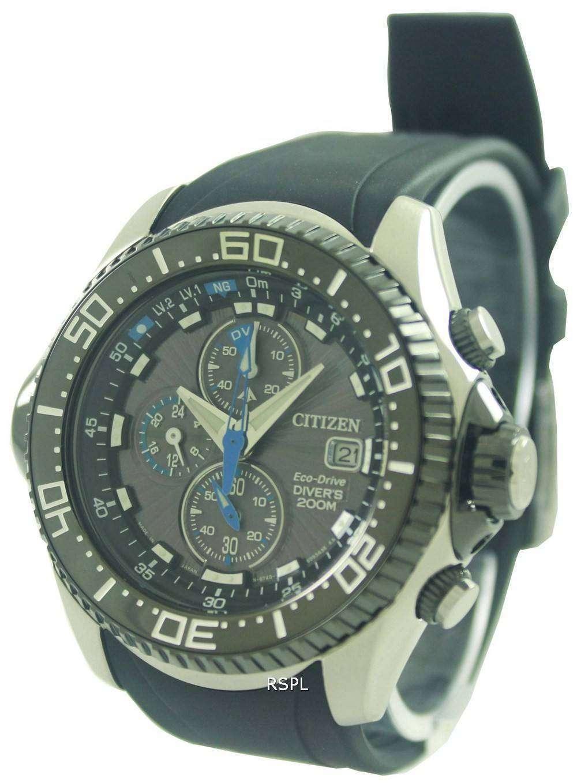 Citizen Promaster Eco Drive Aqualand Chronograph Divers Watch ... d8f74ff5cfe