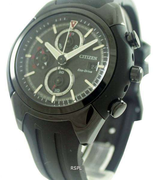 Citizen Eco-Drive Chronograph CA0285-01E Mens Watch