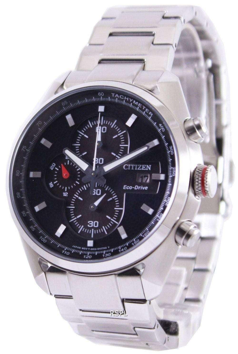 Citizen Eco Drive Chronograph Ca0360 58e Mens Watch