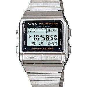Casio Digital 5 Alarm Multi-Lingual Data Bank DB-380-1DF DB-380-1 Mens Watch