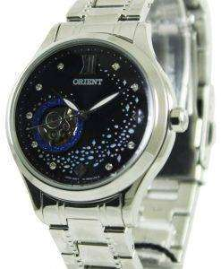Orient Happy Stream Collection Blue Moon Open Heart DB0A007B Womens Watch