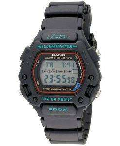 Casio Digital Classic Alarm Chronograph WR200M DW-290-1VS DW-290-1 Mens Watch