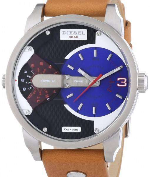 Diesel Mini Daddy Dual Time DZ7308 Mens Watch