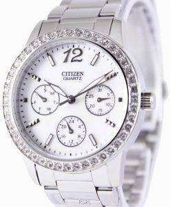 Citizen Quartz Swarovski Crystals ED8090-53D Womens Watch