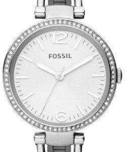 Fossil Georgia Glitz Bangle Crystal ES3225 Womens Watch