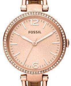 Fossil Georgia Glitz Bangle Crystal ES3226 Womens Watch