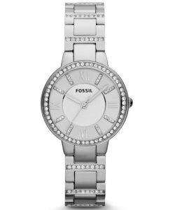 Fossil Virginia Three-Hand Crystal ES3282 Womens Watch