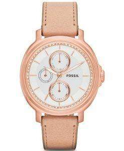 Fossil Chelsey Multifunction Sand Leather Strap ES3358 Womens Watch