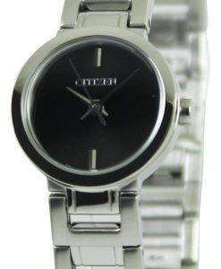 Citizen Quartz Black Dial EX0330-56E Womens Watch