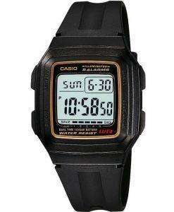 Casio Digital 5 Alarms Dual Time Illuminator F-201WA-9ADF F-201WA-9A Mens Watch
