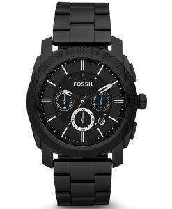 Fossil Machine Chronograph Black IP Stainless Steel FS4552 Mens Watch