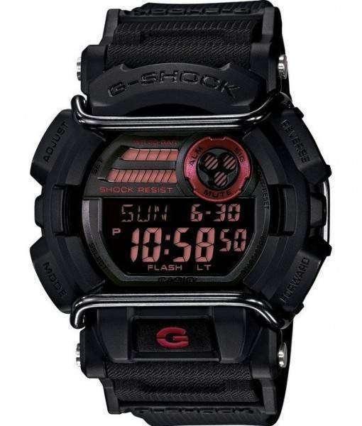 Casio G-Shock Flash Alert Super Illuminator 200M GD-400-1 Mens Watch