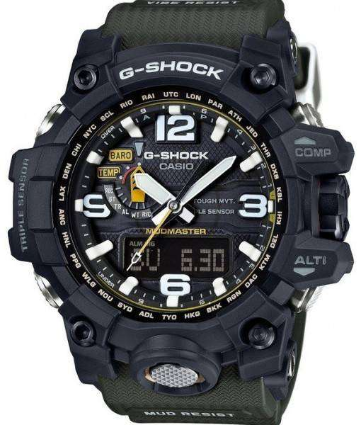 Casio G-Shock Mudmaster Triple Sensor GWG-1000-1A3JF Mens Watch