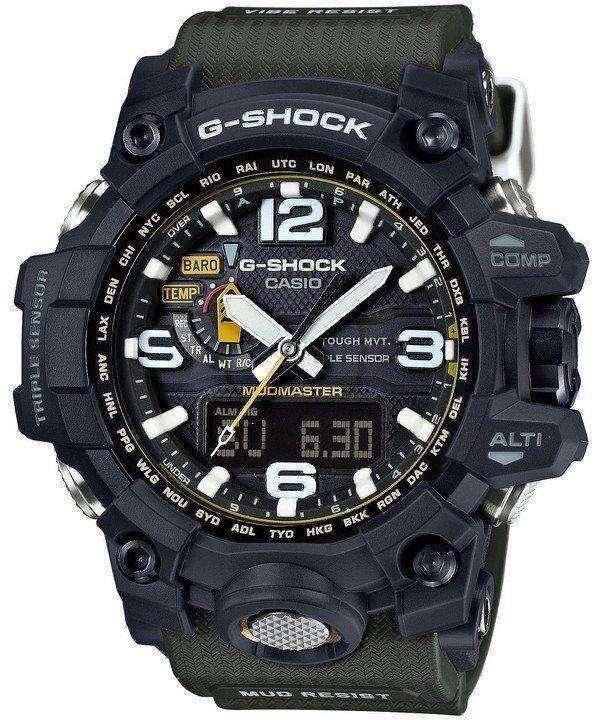 Casio G-Shock Mudmaster Triple Sensor GWG-1000-1A3JF Mens Watch