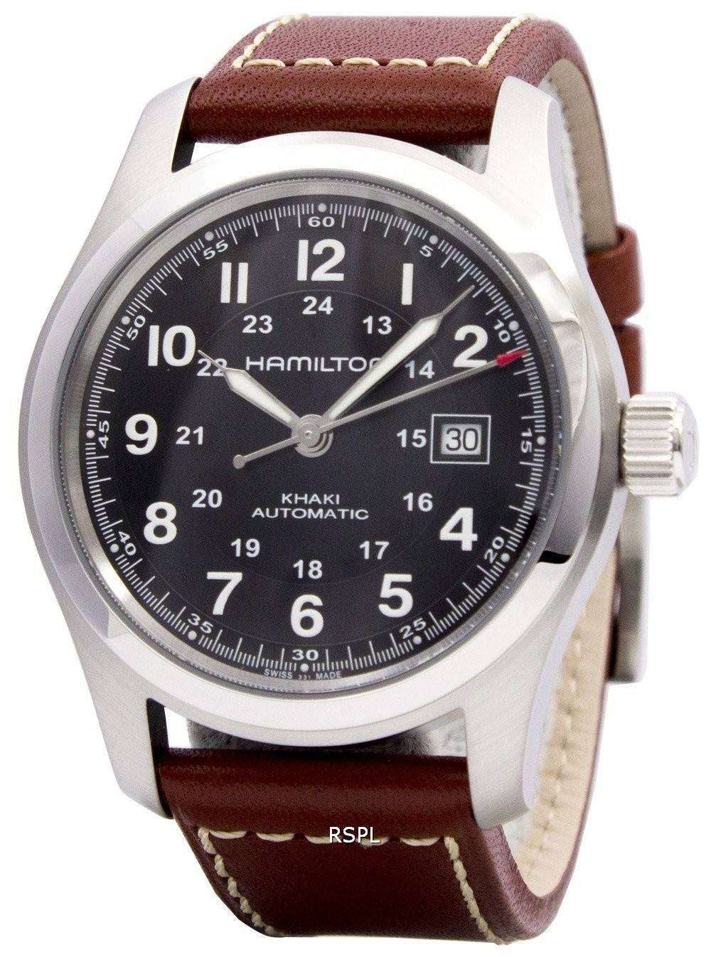 3e1db8912 Hamilton Khaki Field Automatic H70555533 Mens Watch