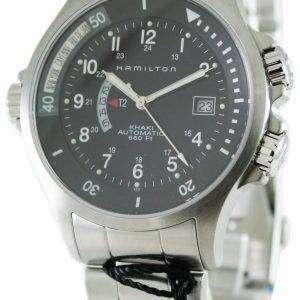 Hamilton Khaki Navy GMT H77615133 Mens Watch