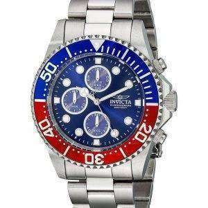 Invicta Pro Diver Chronograph 200M Blue Dial INV1771/1771 Mens Watch