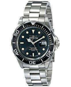 Invicta Pro Diver 200M Quartz Black Dial INV9307/9307 Mens Watch