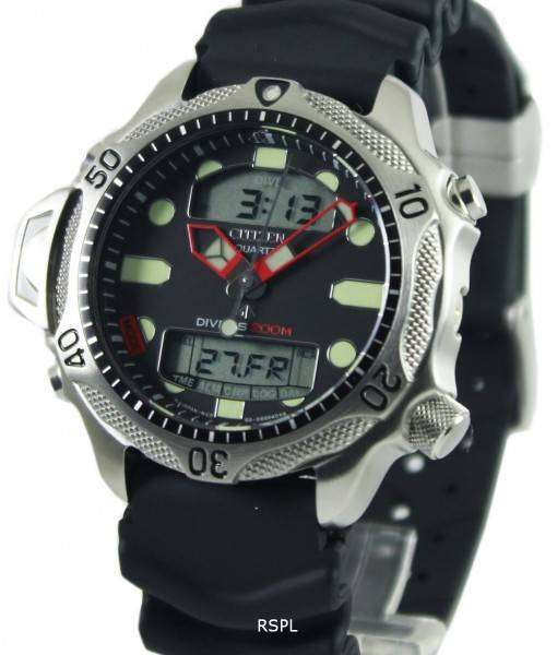 Citizen Aqualand Diver Depth Meter Promaster JP1010-00E JP1010 Watch Mens Watch