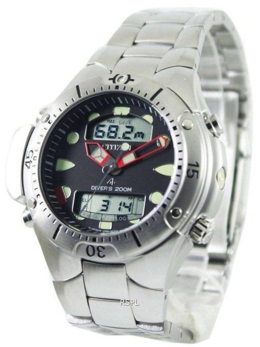 Citizen Aqualand Diver Depth Meter Promaster JP1060-52E JP1060 Mens Watch