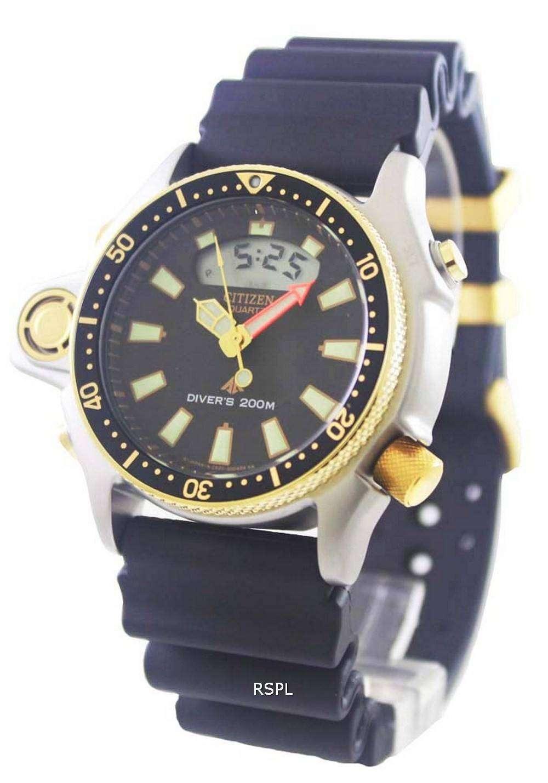Citizen aqualand diver depth meter promaster jp2004 07e jp2004 mens watch - Citizen promaster dive watch ...