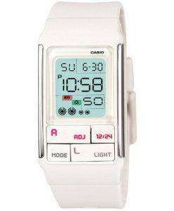 Casio Digital Quartz Dual Time Alarm LDF-52-7ADR LDF-52-7A Womens Watch