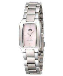 Casio Enticer Analog Pink Dial LTP-1165A-4CDF LTP-1165A-4C Womens Watch