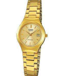 Casio Analog Gold Tone LTP-1170N-9ARDF LTP-1170N-9AR Womens Watch