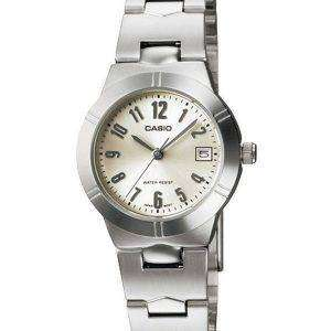Casio Enticer Analog Quartz White Dial LTP-1241D-7A2DF LTP-1241D-7A2 Womens Watch