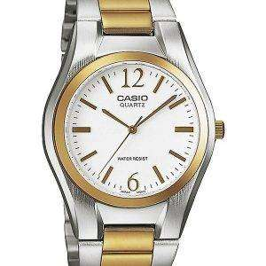 Casio Enticer Analog Quartz White Dial LTP-1253SG-7ADF LTP-1253SG-7A Womens Watch