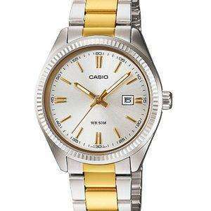 Casio Enticer Analog Quartz LTP-1302SG-7AVDF LTP-1302SG-7AV Womens Watch