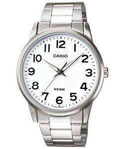 Casio Enticer Analog Quartz White Dial LTP-1303D-7BVDF LTP-1303D-7BV Womens Watch