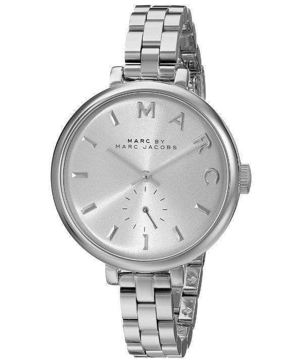 marc by marc jacobs sally silver dial stainless steel