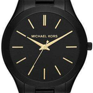 Michael Kors Slim Runway Black Dial MK3221 Womens Watch
