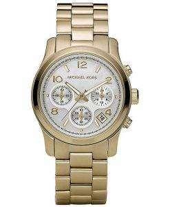 Michael Kors Classic Gold-Tone Chronograph MK5305 Womens Watch