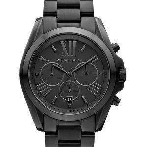 Michael Kors Bradshaw Chronograph Black Ion-plated MK5550 Unisex Watch