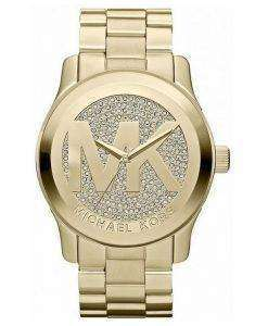 Michael Kors Runway Crystal Pave Dial MK5706 Womens Watch