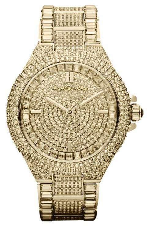b3f269f97 Michael Kors Camille Swarovski Crystal Encrusted MK5720 Womens Watch