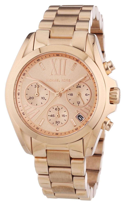 09586501de16 Michael Kors Bradshaw Chronograph MK5799 Womens Watch
